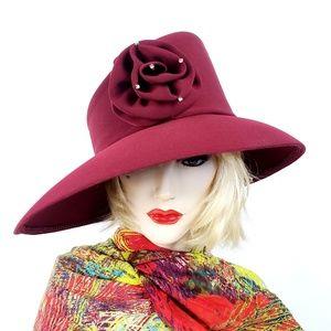 Vintage Terramina Church Derby Wedding Hat